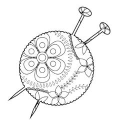 Flower & Yarn Vector Images (69)