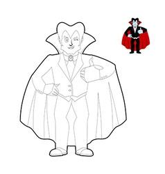 Angry man cartoon coloring page Royalty Free Vector Image