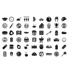 Food and drink wood application icons Royalty Free Vector