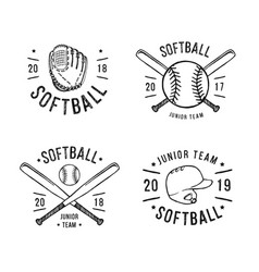 Softball Vector Images (over 3,000)