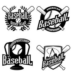 Professional sports logo hawks Royalty Free Vector Image