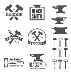Logo carpentry workshop Royalty Free Vector Image