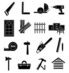Welding work icons set Royalty Free Vector Image
