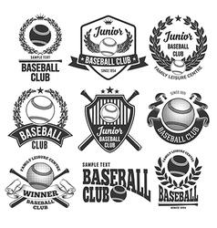 Softball Tournament Flyer Royalty Free Vector Image