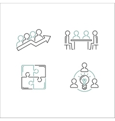 Teamwork & Business Vector Images (over 54,000)