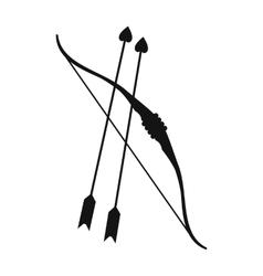 Crosshair black simple icon Royalty Free Vector Image