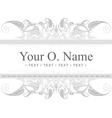 Vintage ornate frame Royalty Free Vector Image