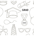 Graduation party invitation Royalty Free Vector Image