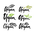 Farm fresh product label design layout Royalty Free Vector
