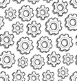 Donut seamless pattern Royalty Free Vector Image