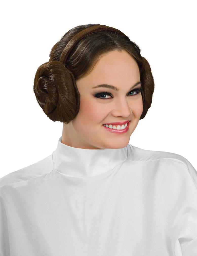 Prinzessin Leia™ Frisur Aus Star Wars™ Perücken Und Günstige