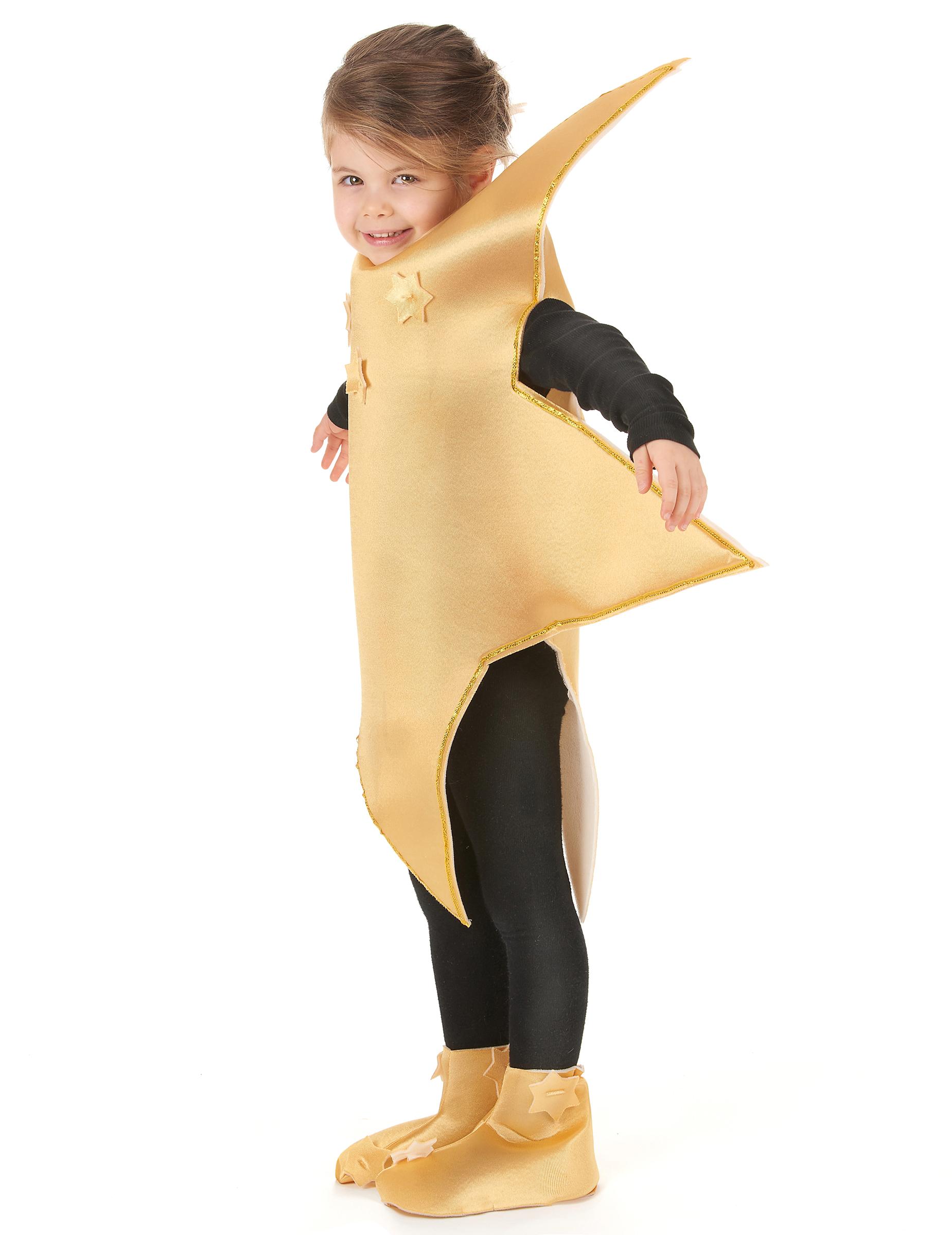Goldenes SternKostm fr Kinder Kostme fr Kinderund gnstige Faschingskostme  Vegaoo