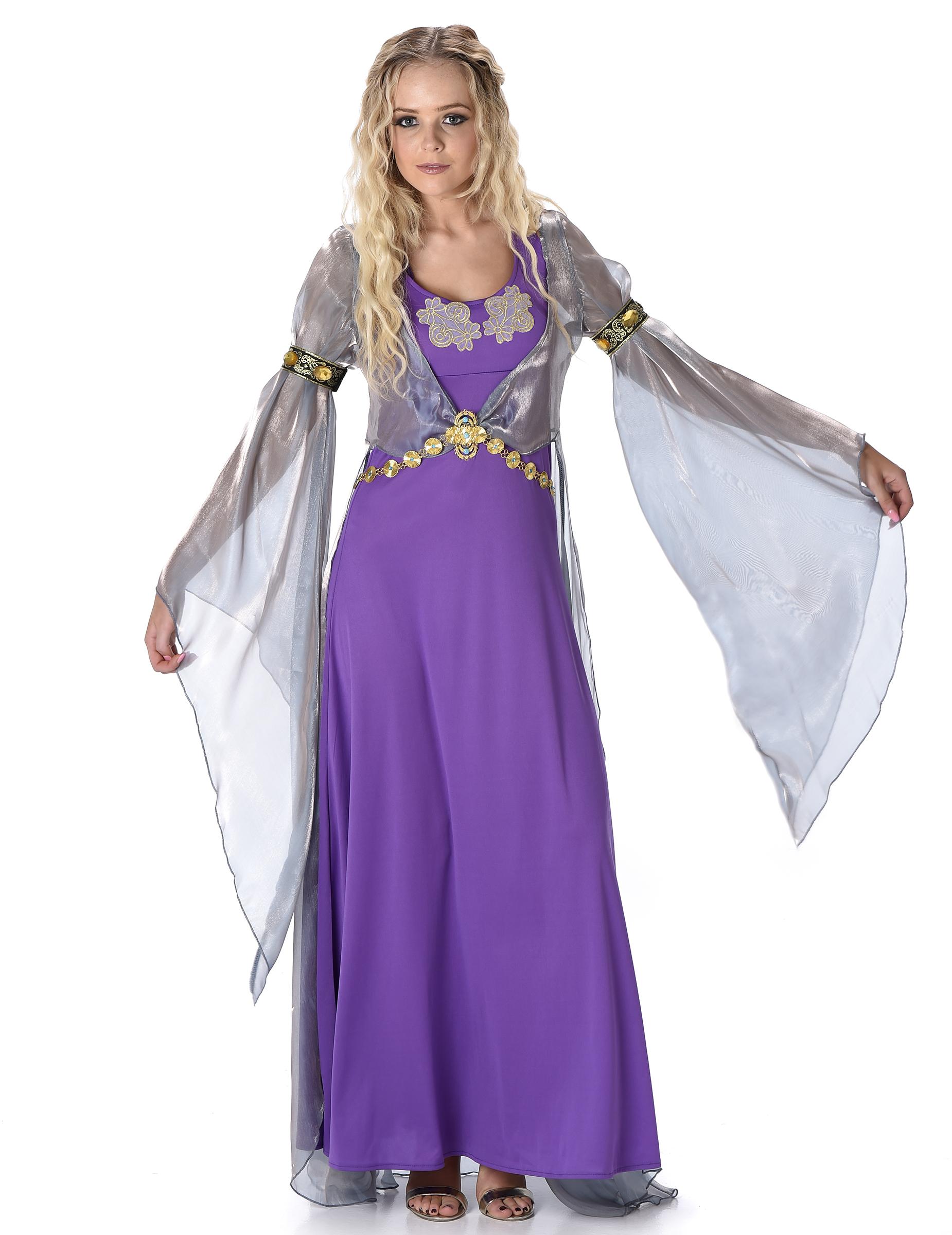 Mittelalterliche Prinzessin  Kostm fr Damen Kostme fr Erwachseneund gnstige