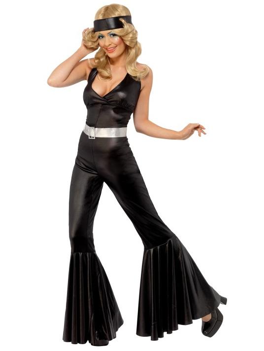 Vestido de diva estilo disco de los aos 70 para mujer