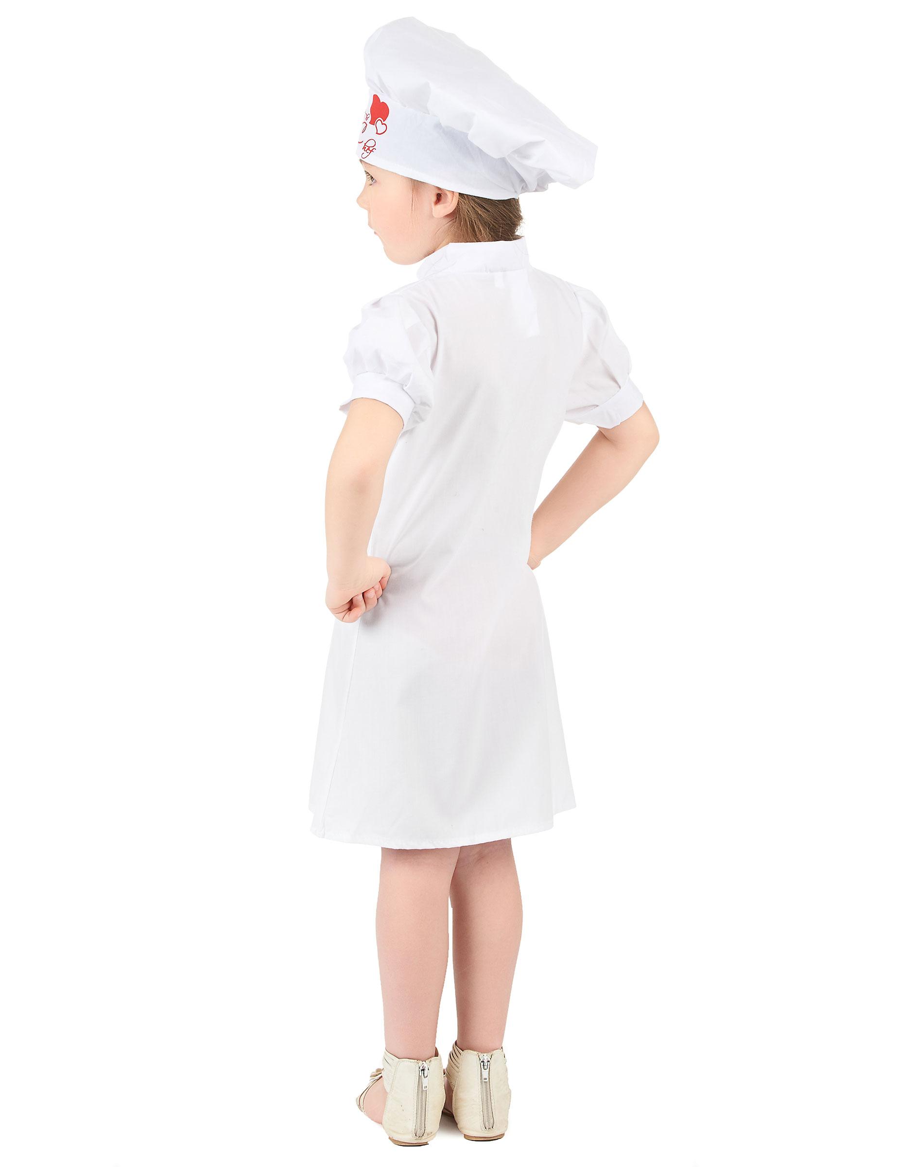 Disfraz chef de cocina nia Disfraces niosy disfraces