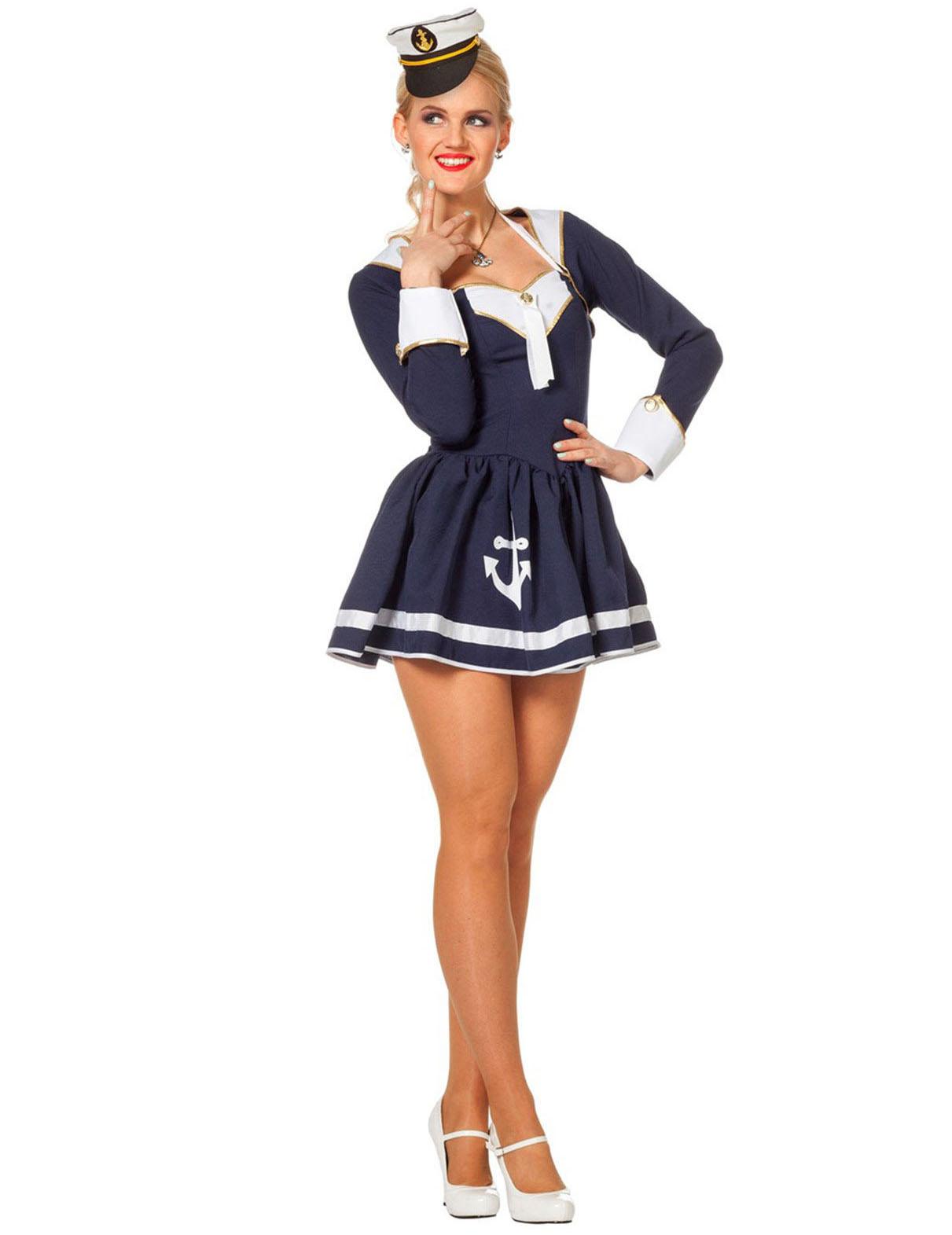 Costume da marinaia sexy donna Costumi adultie vestiti di carnevale online  Vegaoo