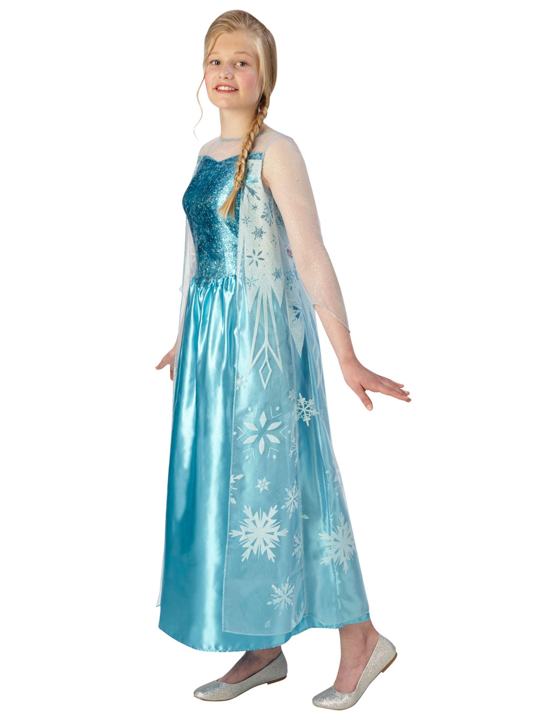 Costume Elsa Frozen per adolescente Costumi bambinie