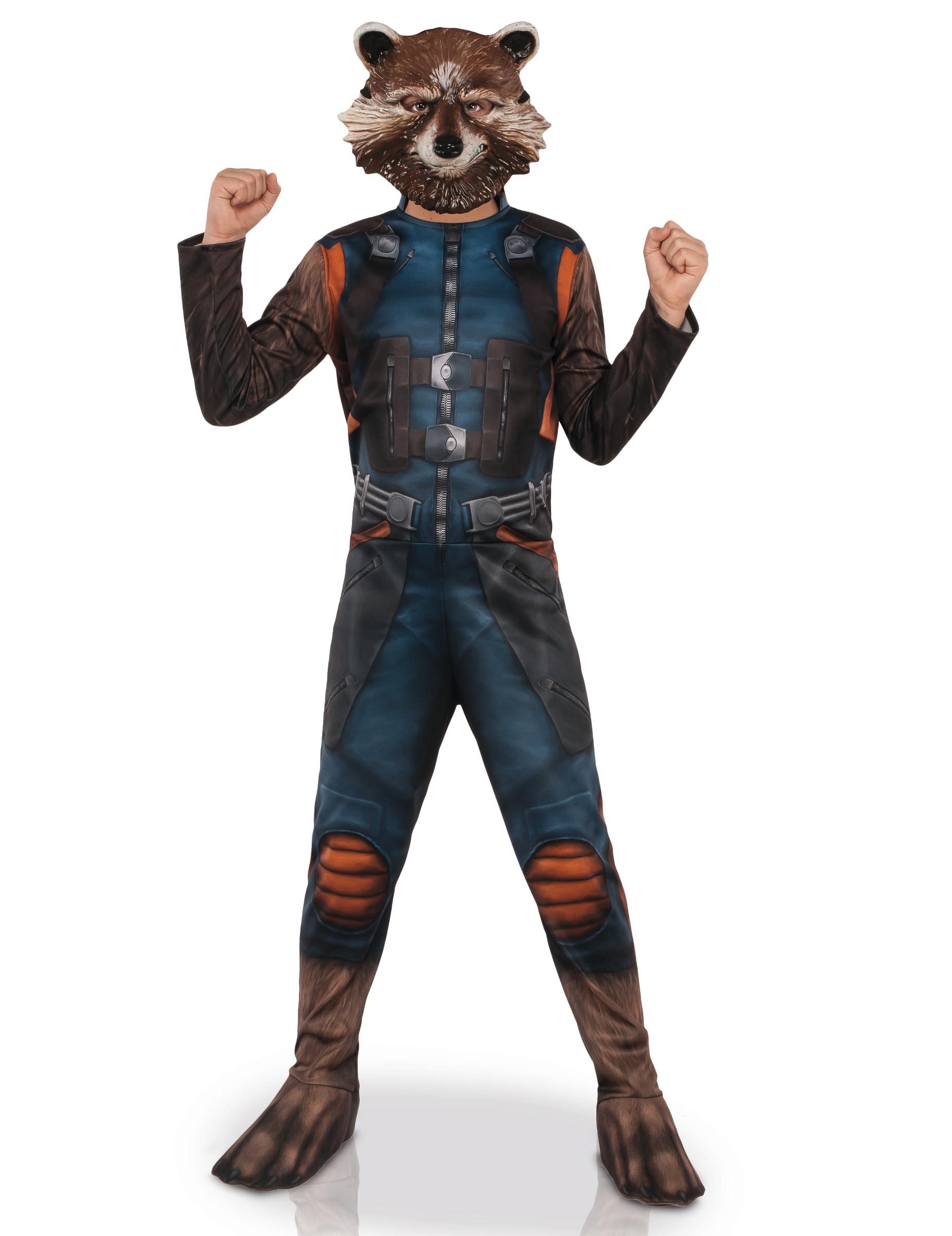 Rocket Gardien De La Galaxie : rocket, gardien, galaxie, Déguisement, Classique, Masque, Rocket, Raccoon™, Enfant,, Décoration, Anniversaire, Fêtes, Thème, Vegaoo, Party