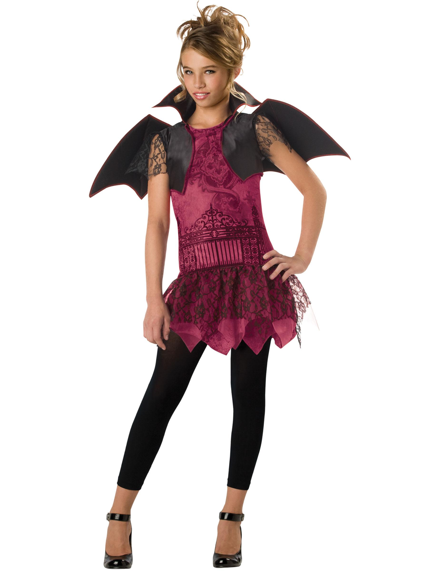 Costume Pipistrello Ragazza Premium Su Vegaooparty Negozio Di Articoli Per Feste