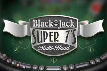 Blackjack super 7s multihand