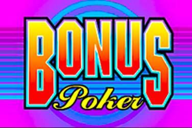 Bonus poker cover