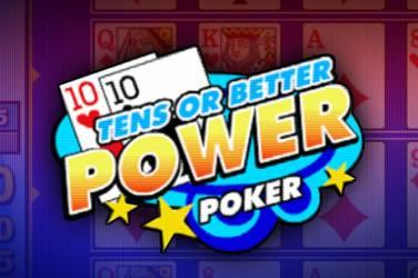 Tens or better 4 play power poker