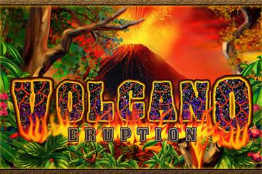 Volcano eruption cover