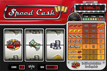 Speed cash