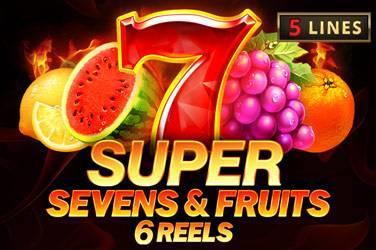 5 Super Sevens & Fruits: 6 reels