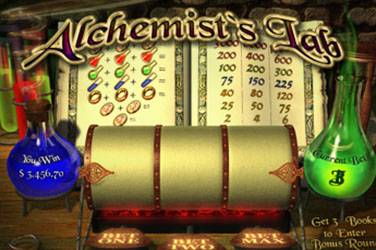Alchemists lab cover