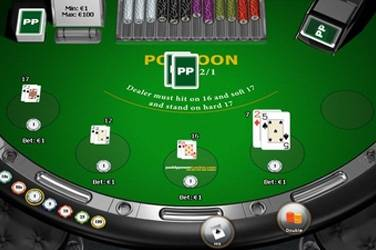 Blackjack pontoon cover