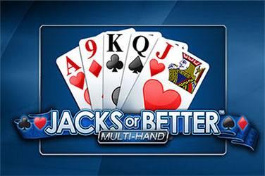 Jacks or better multihand