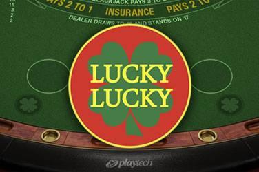 Lucky lucky blackjack