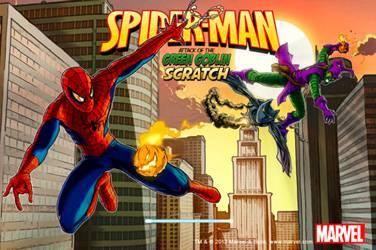 Spider-man scratch