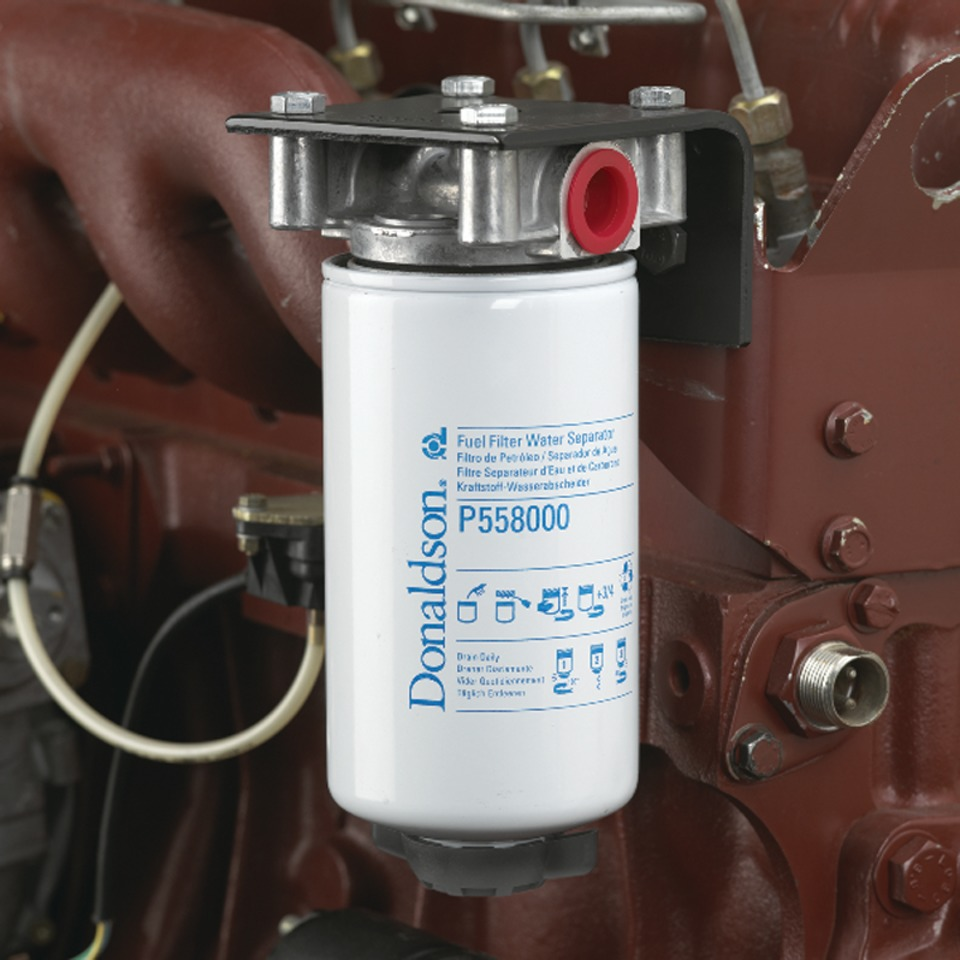hight resolution of donaldson company inc twist drain fuel filter water separator in engine drivetrain