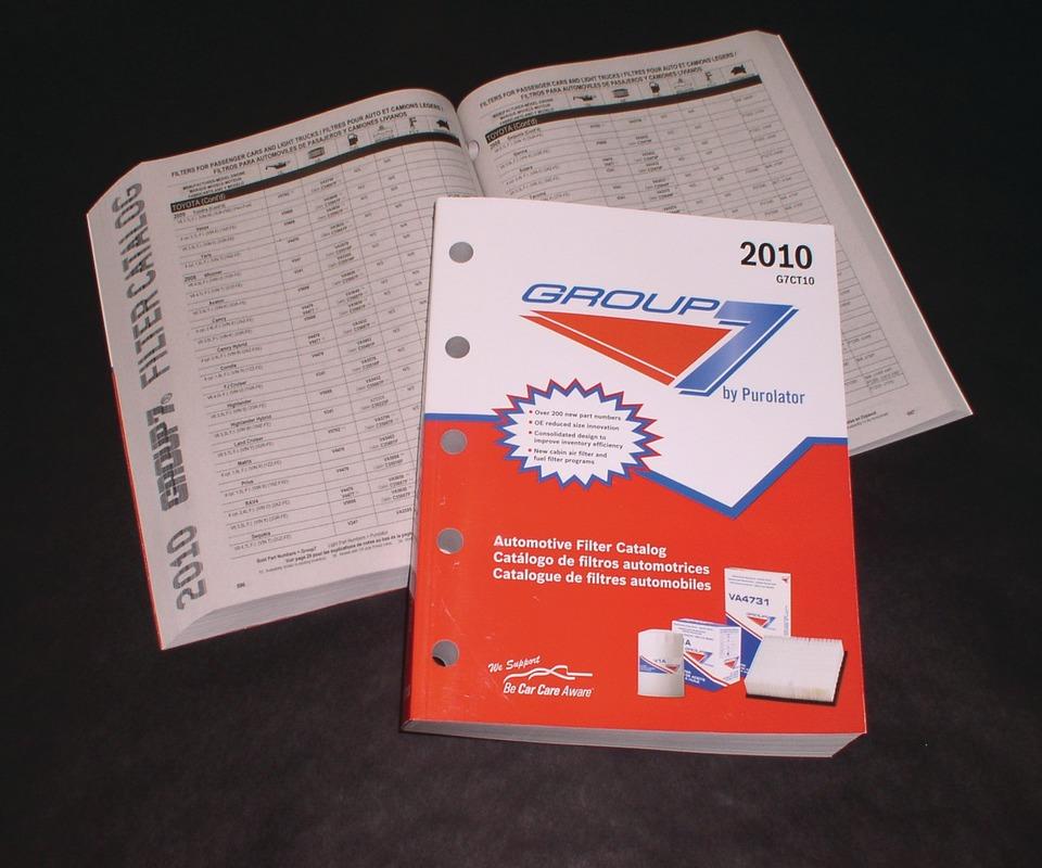 purolator fuel filter catalog