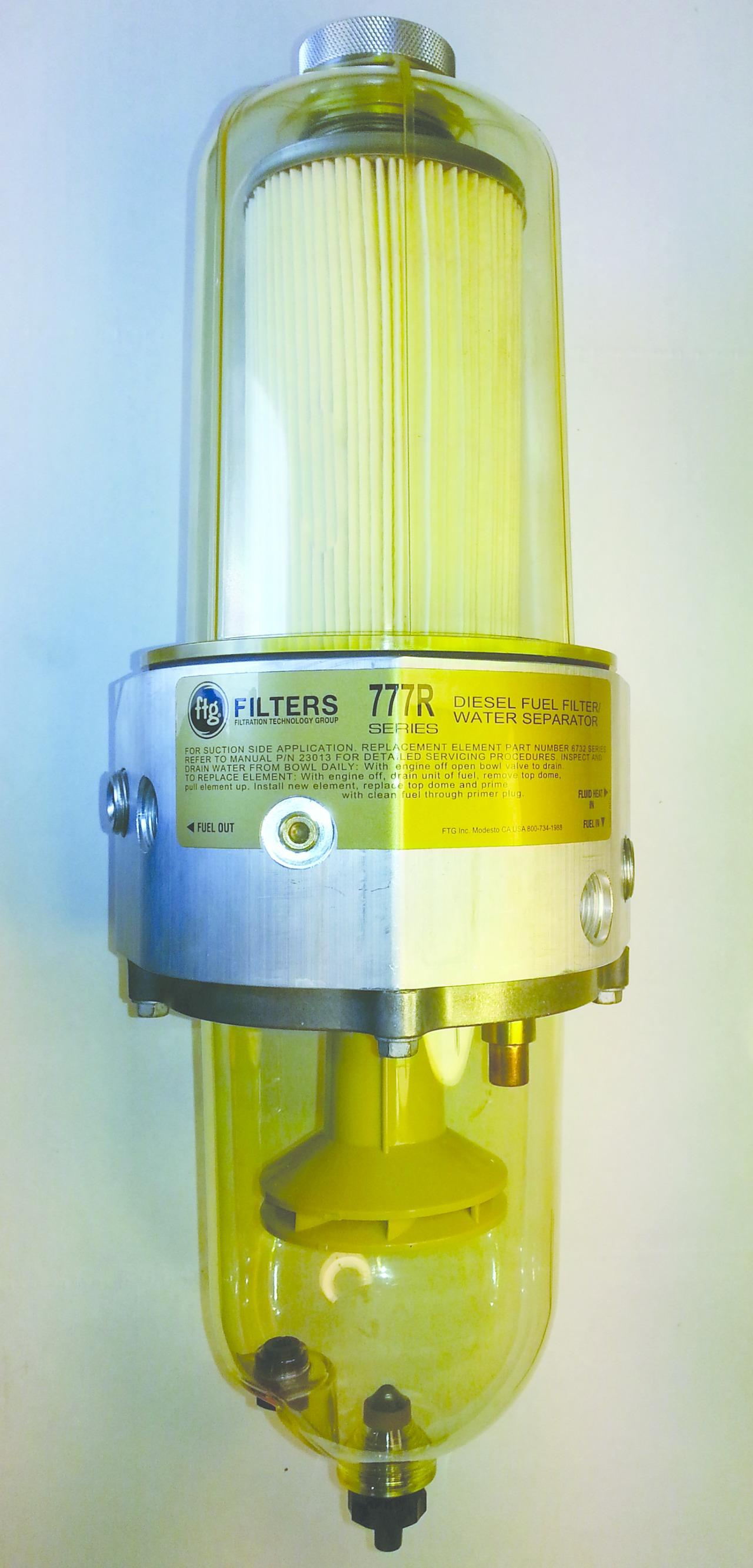 hight resolution of ftg fuel filter water separator heater 777r 5489eff111077