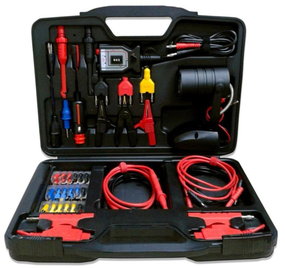 hight resolution of the strategic tools equipment sensor and ecu test lead kit no aslk12 contains 14 pre assembled y test harnesses with ford applications