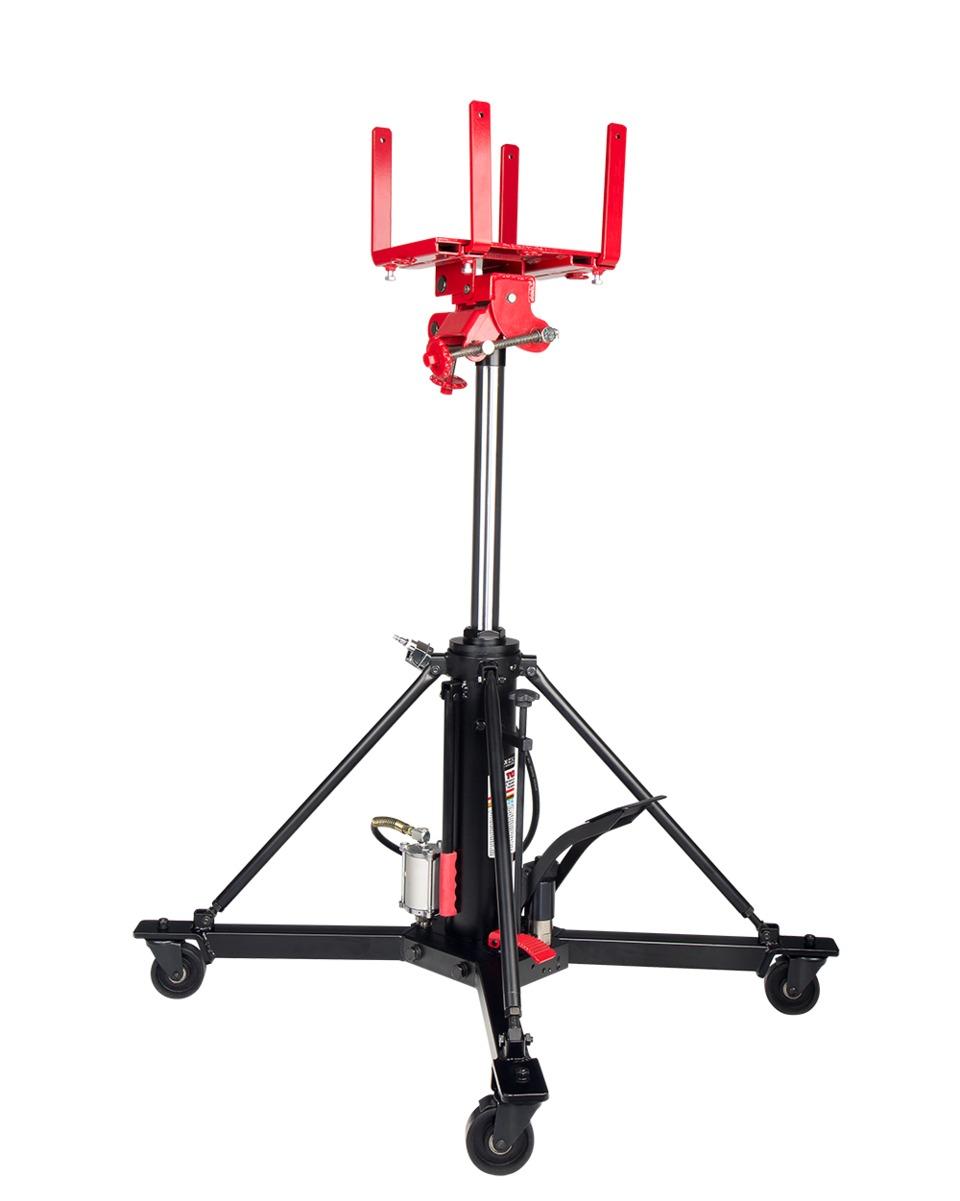 Sunex Tools 1-Ton Telescopic Transmission Jack with Air