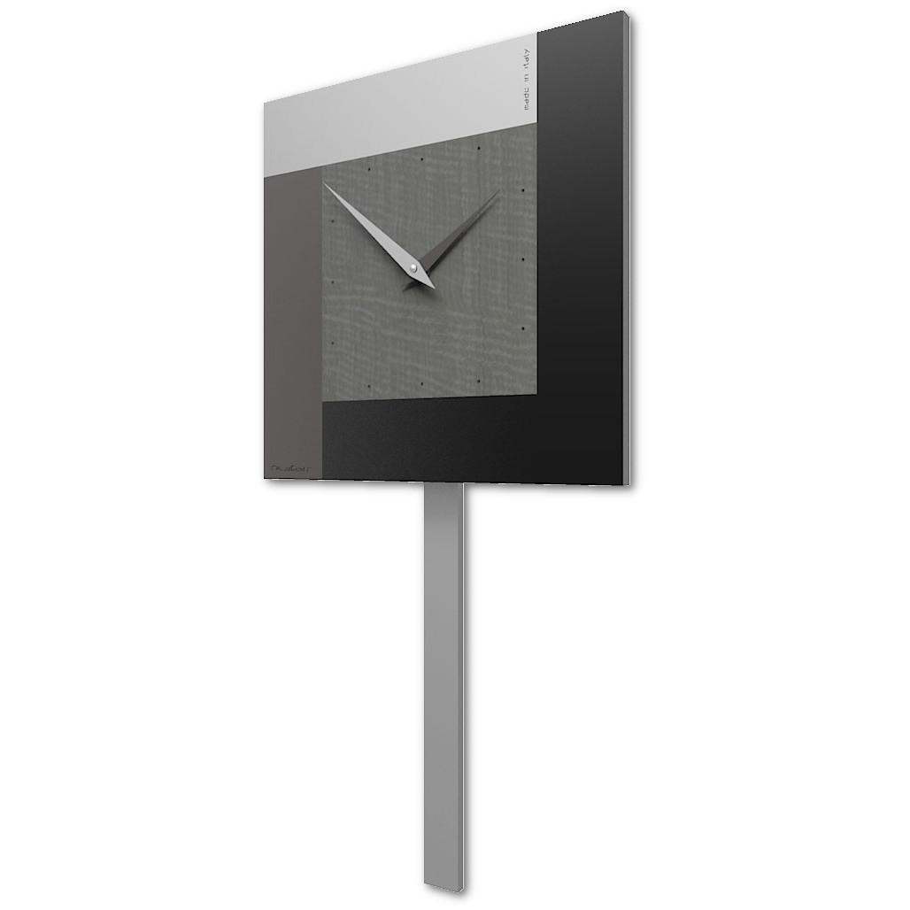 Jomparis 40 cm orologio da parete a pendolo, stile retrò, al quarzo 40cm bronzo*. Calleadesign Orologio A Pendolo Moderno Da Parete In Legno Collezione Pendulum In Vari Colori