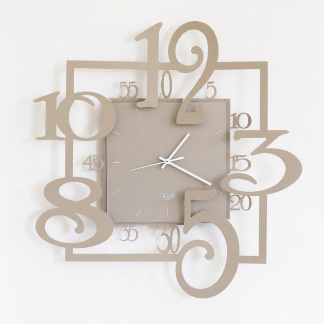 Orologio a parete moderno ø 50 cm. Arti E Mestieri Linea Amos Orologio Da Muro Moderno In Metallo Vari Colori
