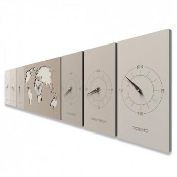 Ogni orologio da parete è studiato per abbellire la tua casa, ufficio o ambiente da lavoro, offrendogli quel tocco di classe che esalta la bellezza. Orologi Da Parete Con Fusi Orari Catalogo Online Completo E Prezzi In Vendita Online