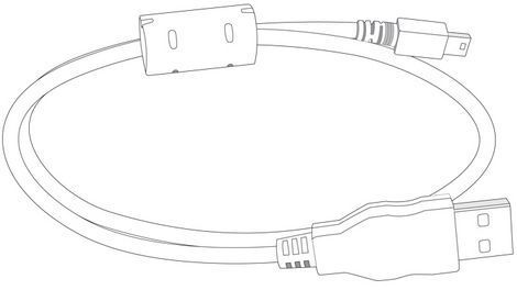 Panasonic K1HY08YY0015 USB-kaapeli