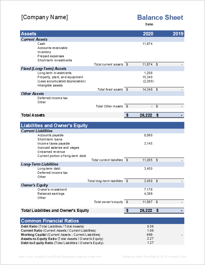 Sort sheet by column a, z → a. Sample Balance Sheet Template For Excel