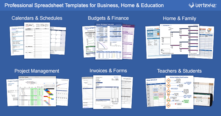 free excel templates and