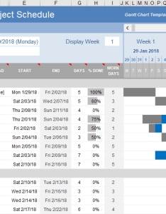 Free excel gantt chart design also template for rh vertex