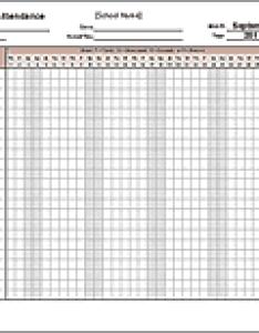 School attendance sheet also free printable sheets rh vertex