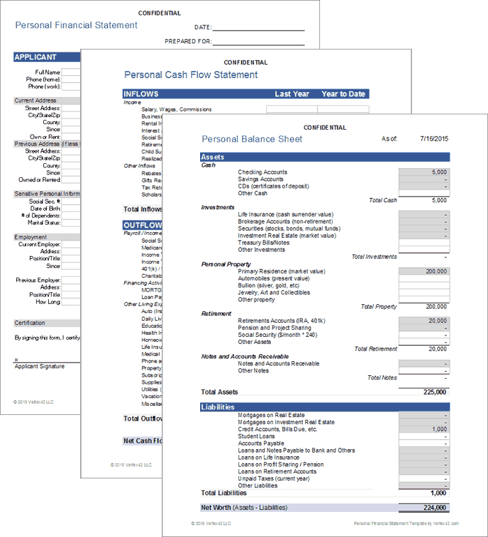 Financial Planners Template Pack for Excel