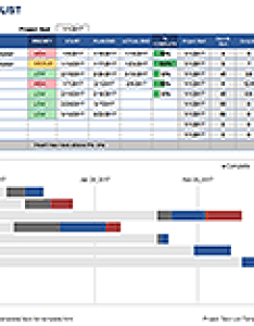 Task list with gantt chart also free template for excel rh vertex