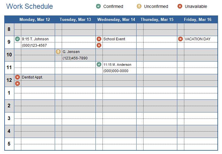Ensure adequate shift coverage with an employee schedule template. Work Schedule Template For Excel